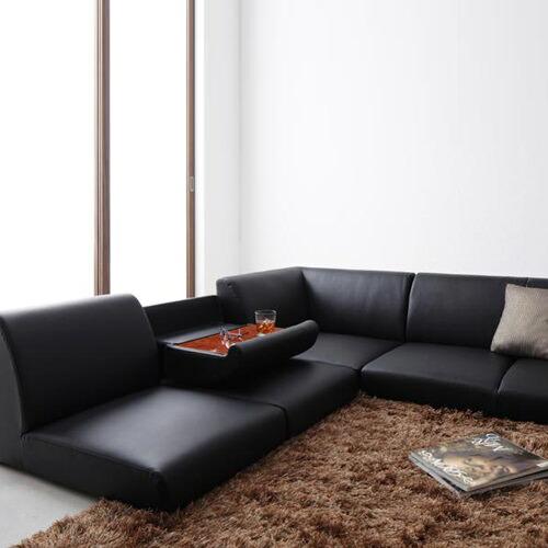 お好みのスタイルで安らぎのスペースを創造 フロアコーナーソファ