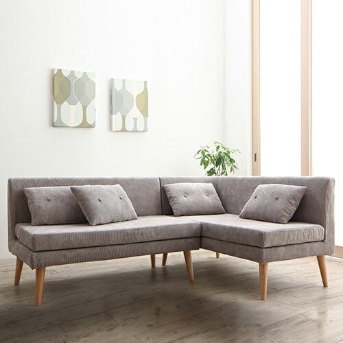 優しい雰囲気に包まれて 北欧デザインソファ リビングダイニング 3点ソファセット