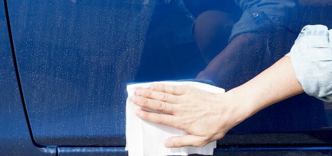 水を使わない洗車用品をご紹介