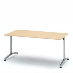 会議用テーブル DEシリーズ/150×75cm(T字脚)【自社便/開梱・設置付】