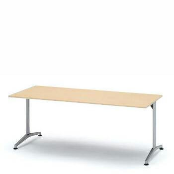 テーブル DEシリーズ/180×75cm(T字脚)【自社便/開梱・設置付】