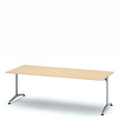 テーブル DEシリーズ/210×90cm(T字脚)【自社便/開梱・設置付】