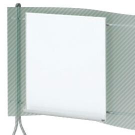 SINTA(シンタ)スクリーン用ホワイトボード(マーカーセット付)【自社便/開梱・設置付】