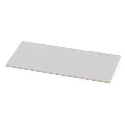(シンラインキャビネット) 追加棚板 W900×D400mmタイプ用【自社便/玄関渡し】