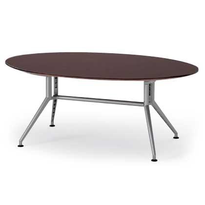 会議テーブルDDシリーズ(120°脚・楕円型)W180【自社便/開梱・設置付】