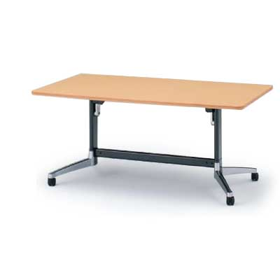 テーブル/DBシリーズ 120°脚/角型天板折りたたみタイプ W160×D80【自社便/開梱・設置付】