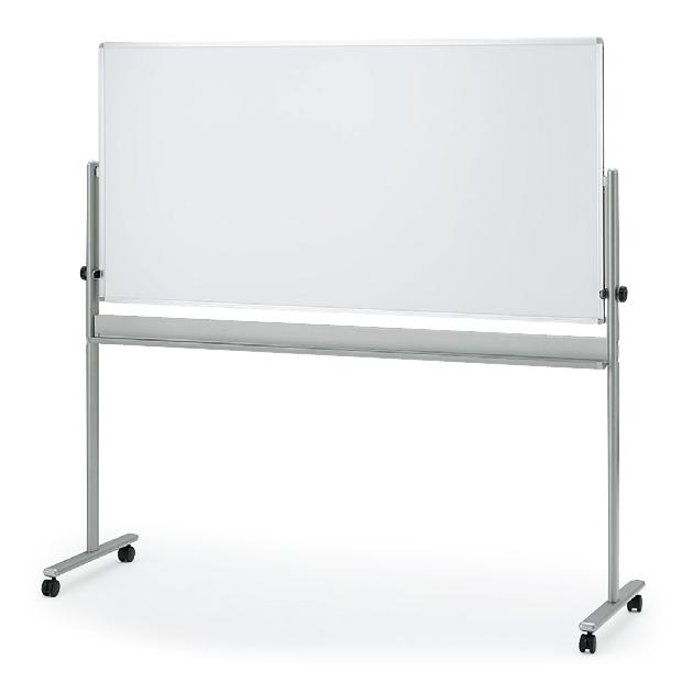 ホワイトボード(片面ホワイト)外寸:W194×H180cm/板面:W180×H90cm【自社便/開梱・設置付】