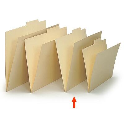 上見出し個別フォルダー A4用/紙質強化タイプ【50枚セット】