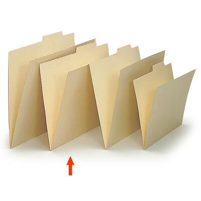 上見出し個別フォルダー B4用/紙質強化タイプ【50枚セット】