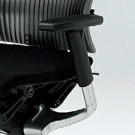 Spina(スピーナチェア)専用オプション/アジャスタブル肘[ADJ肘](シルバー)/左右セット【自社便/開梱・設置付】