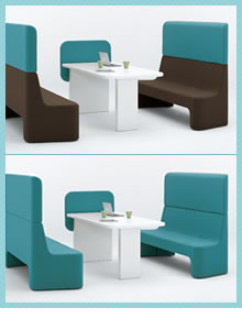 cacomi(カコミ)ローテーブル ブルー