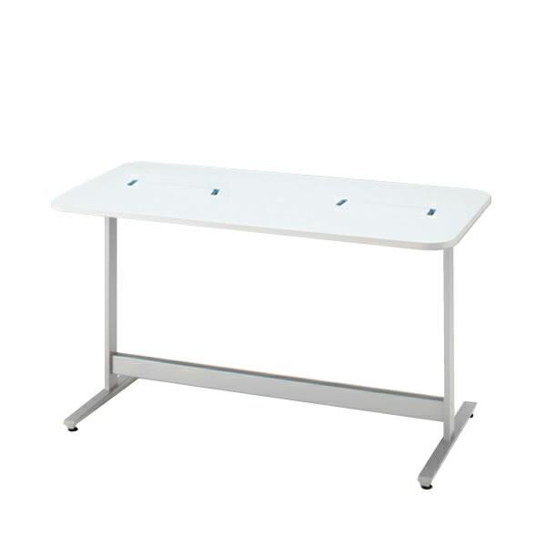 メディワークテーブル 角型/配線対応天板タイプ W160×D80cm 【自社便/開梱・設置付】