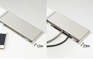 メディワークデスク/矩形(標準)タイプ W160cm 特徴