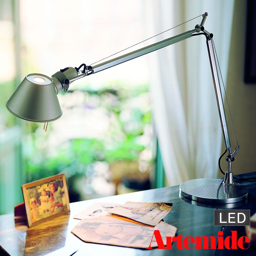 Artemide Tolomeo tavolo(アルテミデ トロメオ)デスクライト スタンド式(LEDタイプ)
