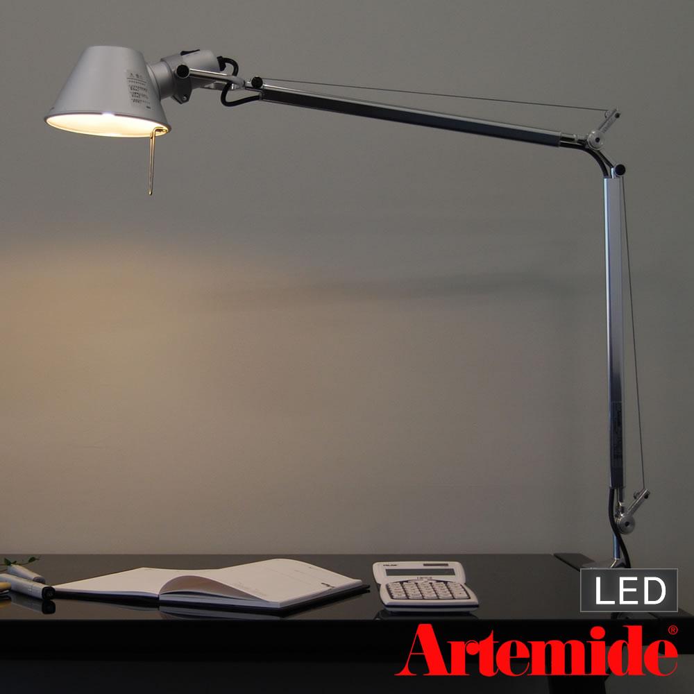 Artemide Tolomeo morsetto(アルテミデ トロメオ)デスクライト クランプ式(LEDタイプ)