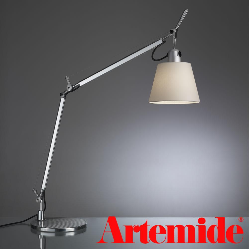 Artemide Tolomeo basculante(アルテミデ トロメオ)デスクライト スタンド式