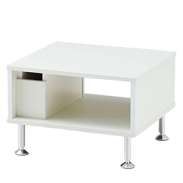 ロビー家具 LFシリーズ/センターテーブル 幅60cm ホワイト 【自社便/開梱・設置付】