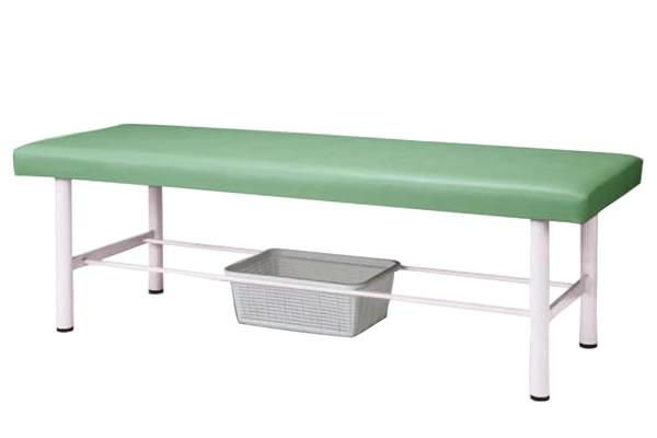 診察台 カゴ付 1800W MON-1800KKN
