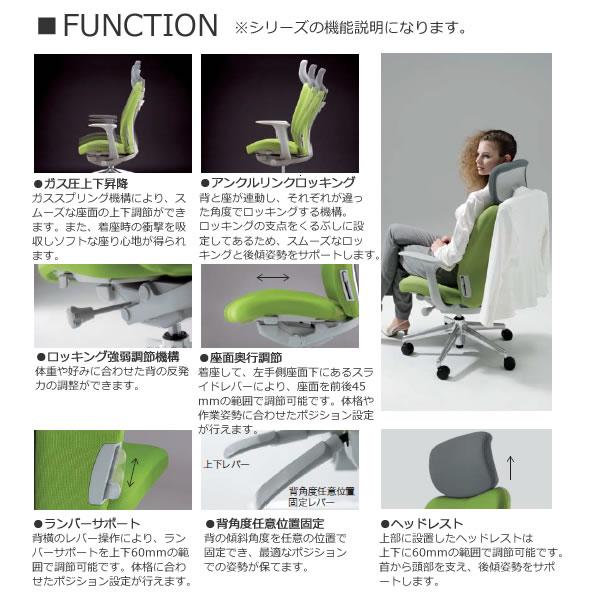 ナイキ エネア ENEIR オフィスチェア ZE型 事務用チェアー