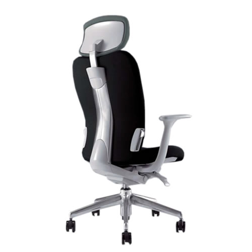 ナイキ エネア ENEIR オフィスチェア ZE型 事務用チェアー ミドルバック ヘッドレスト付 固定肘