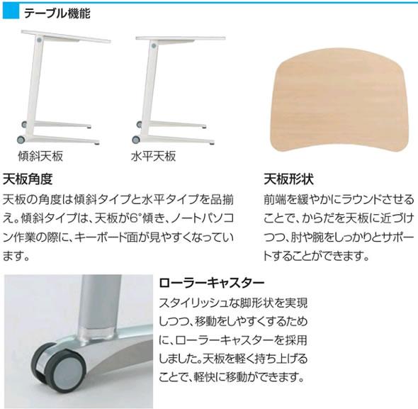 オカムラ シフト チェア テーブル
