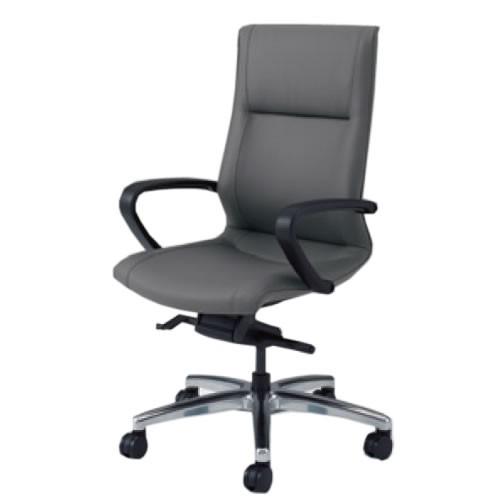 オカムラ CE エグゼクティブチェア 社長椅子 役員椅子 ハイバック 幕板なし 固定肘