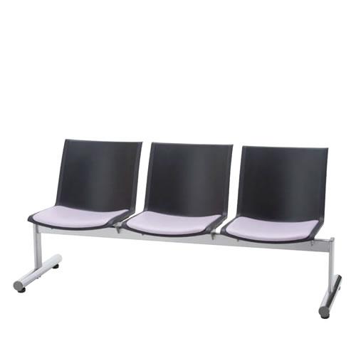 ロビーチェア ロビーチェアー 肘なし 3人掛け 待合 ロビー用椅子 長椅子 いす イス タンデムロビーチェア LALC型