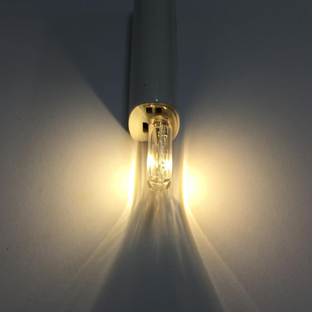 両面発光 USB LEDライト 昼白色 電球色 ミニサイズ USBライト バルク品 車載電灯 極小サイズで設置場所を選ばない メール便配送可