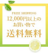 12,000円以上のお買い物で送料無料
