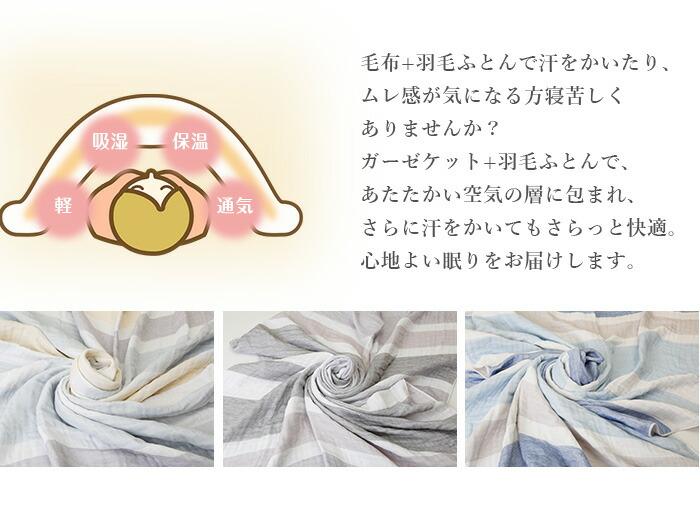 毛布+布団で汗をかいたり、ムレ感が気になる方寝苦しくありませんか?