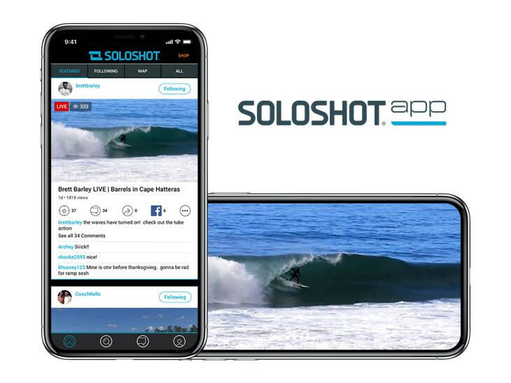 SOLOSHOT app