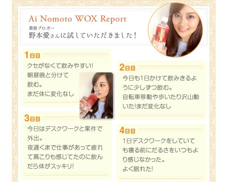 ウォックスレポート
