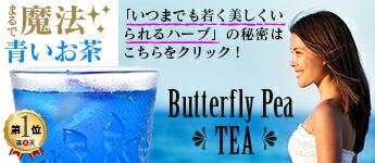 青いお茶 バタフライピー ブルーハーブティー
