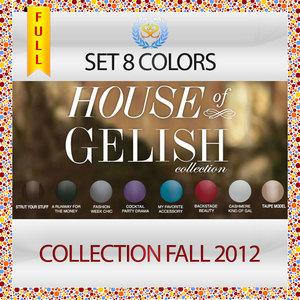 (Harmony Gelish) House of Gelish 2012 Fall Collection