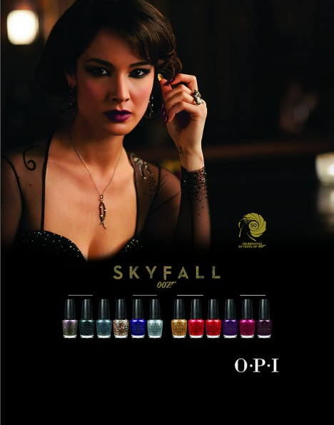 (OPI) 007 SKY Fall Collection