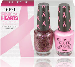 (OPI) Pink of Hearts Collection 2012