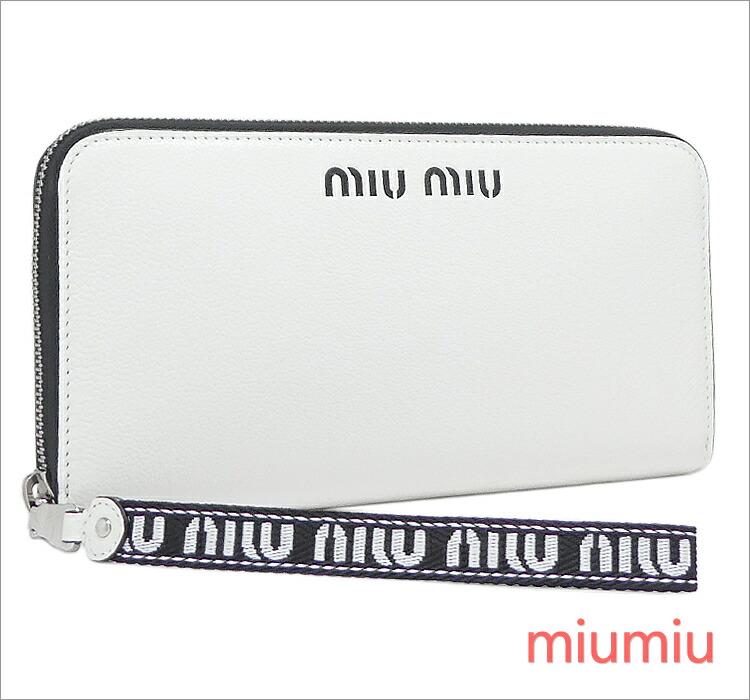 102186ee06a2 1/25入荷【ギフト ラッピング無料】ミュウミュウ miumiu ラウンド ...