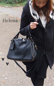本革バッグ レディース ヘレナ