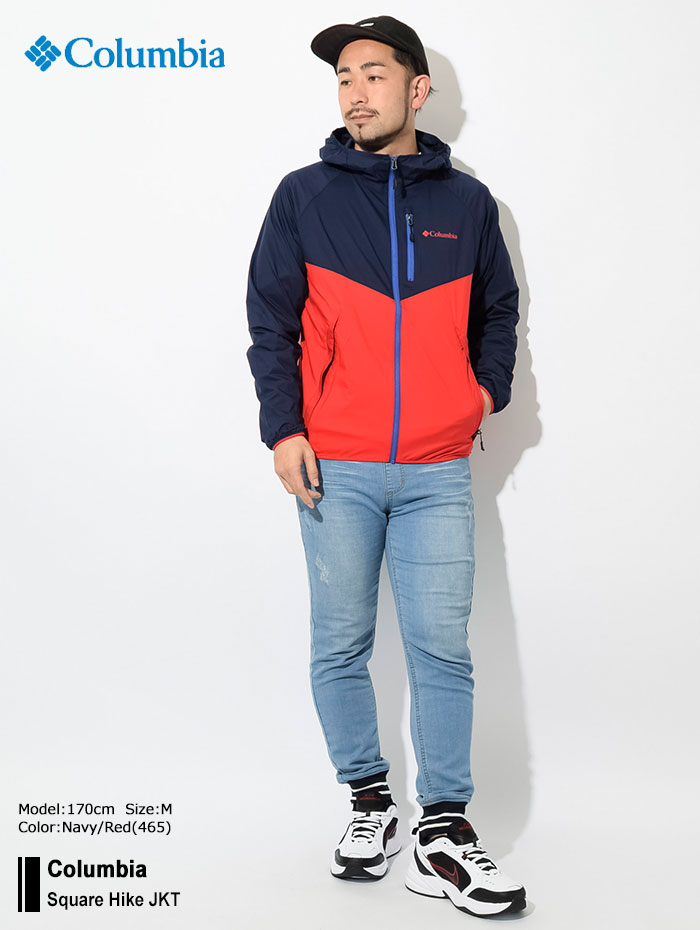 Columbiaコロンビアのジャケット Square Hike01