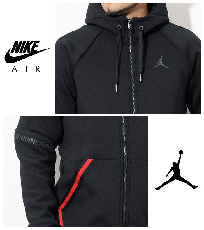 Nike NIKE パーカージップアップメンズエアジョーダンフライトテックダイヤモンドフルジップフーディ (939940 for the nike AIR JORDAN Flight Tech Full Zip Hoodie food sweat shirt Zip up Hoody Parker