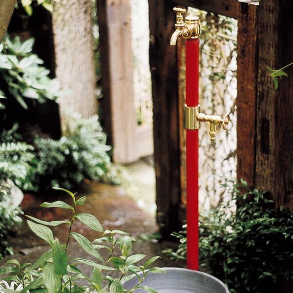 合わせるならクラッシック水栓柱