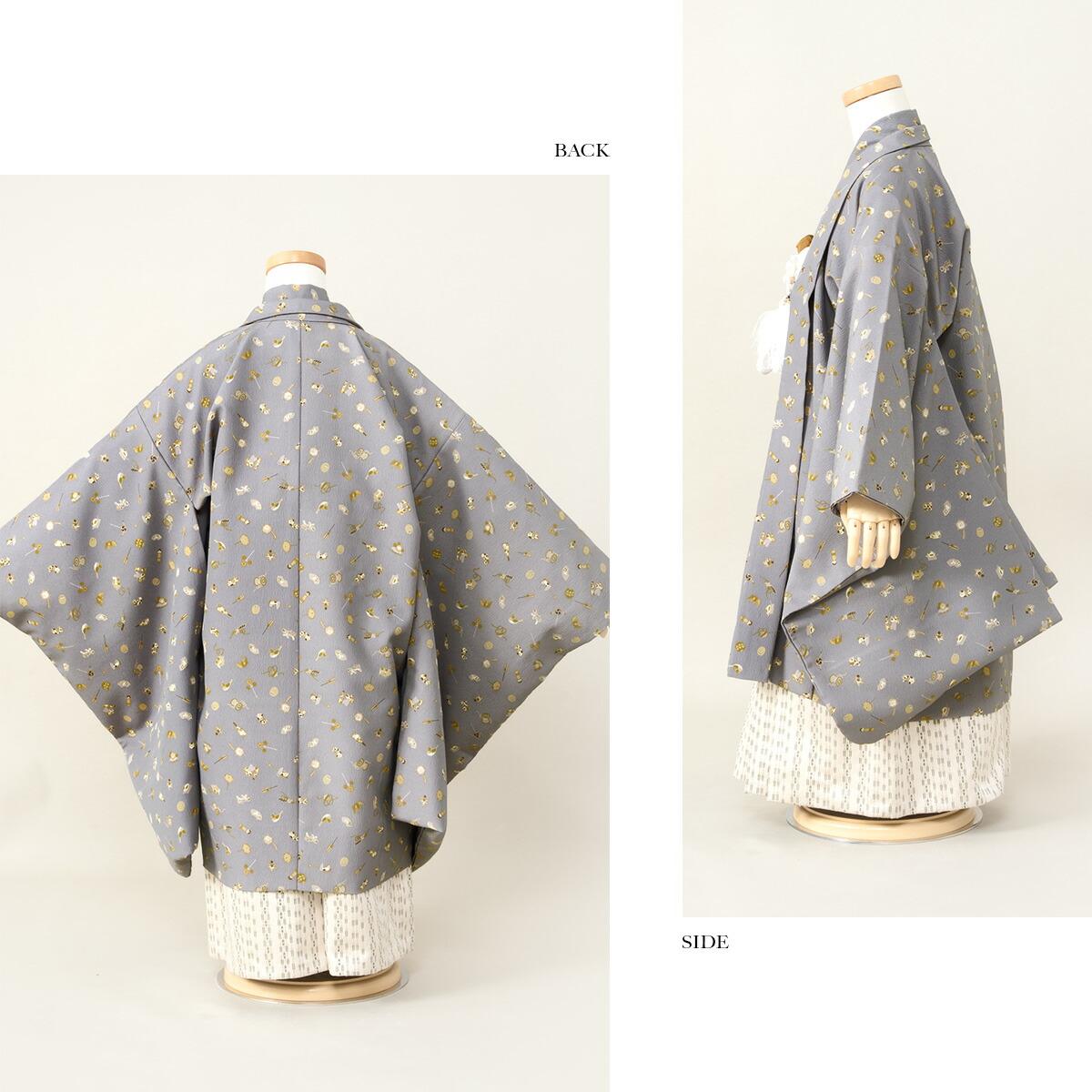 お子様の健やかな成長を願う羽織・袴セット
