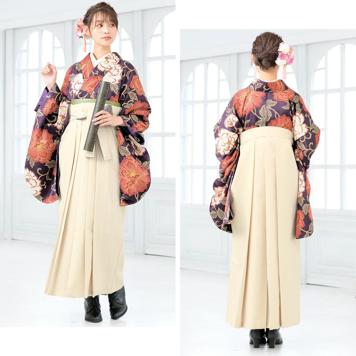記念日を華やかに彩るレンタル袴セット
