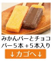 みかんアイスバー+チョコバー5+5本