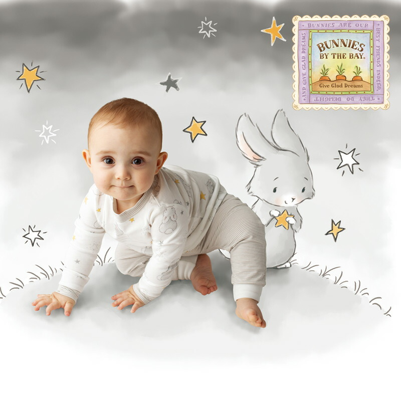 Bunnies By The Bay Bloom Twinkle Twinkle Set Up グレー☆9-12M 5,500円