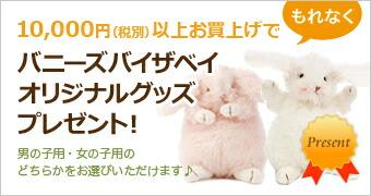 10,000円(税別)以上お買上げでプレゼント!