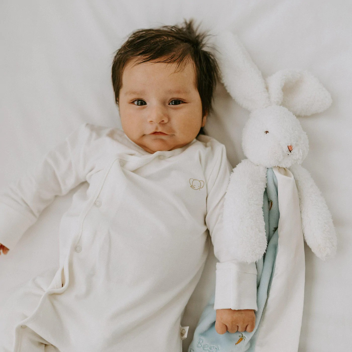 赤ちゃんの安心毛布