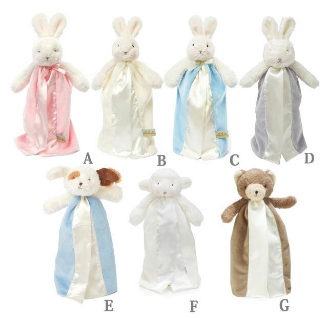 赤ちゃんの安心毛布ミニサイズの種類