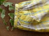 黄色タータンのシャツ PK (PN1811029)