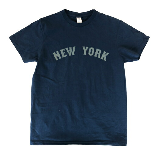 NEW YORK ロゴTシャツ